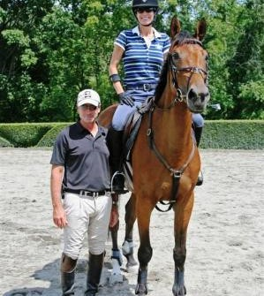 Peter with Jaliska and me after our lesson.